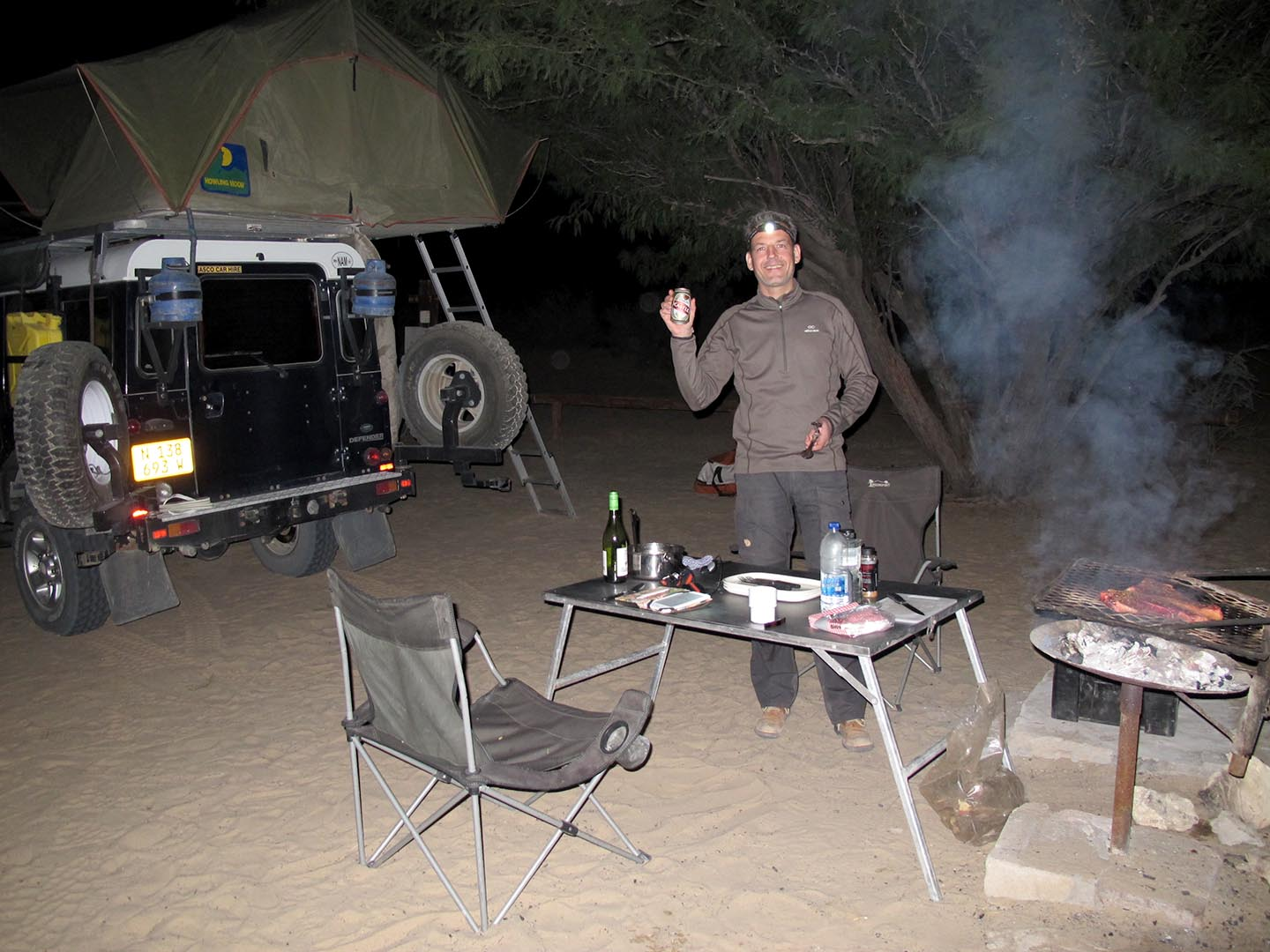 Camping in the Kgalagadi