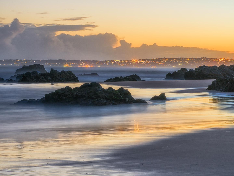 Keurboom beach sunset
